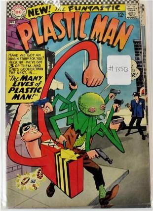 Plastic Man Silver Bronze Age Comics