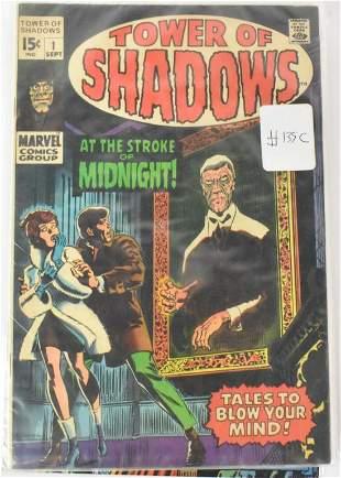 Monster of Horror Marvel 1 Silver Bronze Age