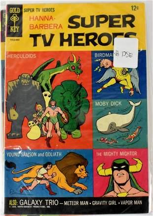 Super TV Heroes Silver Age Gold Key Comics