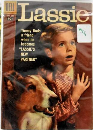 Lassie Gold Early Silver Age Comics