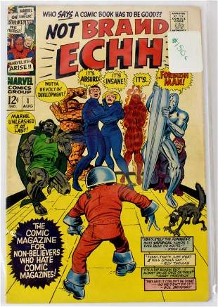 Assorted Marvel 1 Issues Silver Bronze Age