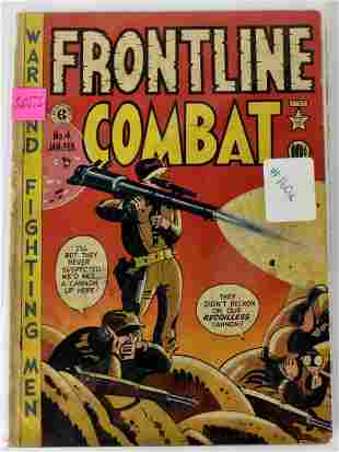 Assorted Military Golden Age Comics
