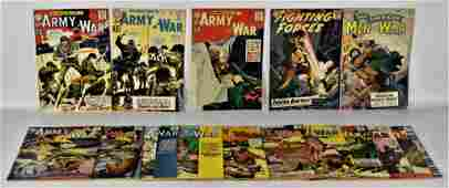 Our Fighting Forces-Army at War-All American Men