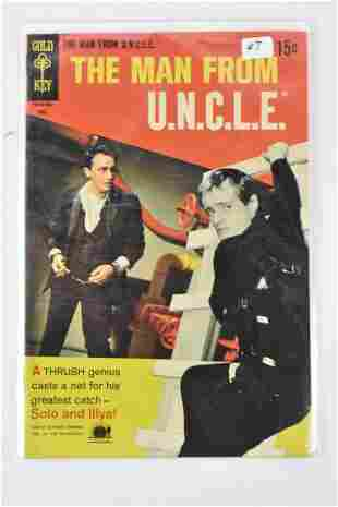 The Man from U.N.C.L.E. Comic Grouping