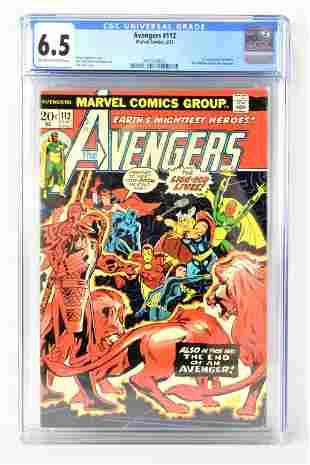 The Avengers #112 CGC 6.5