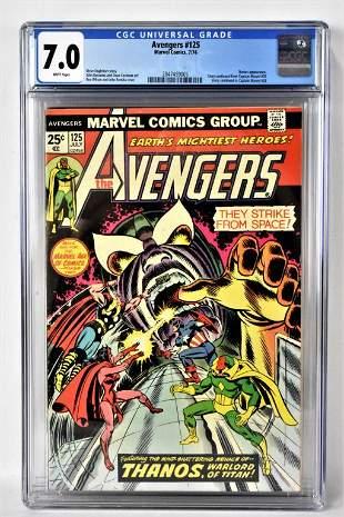 The Avengers #125 CGC 7.0