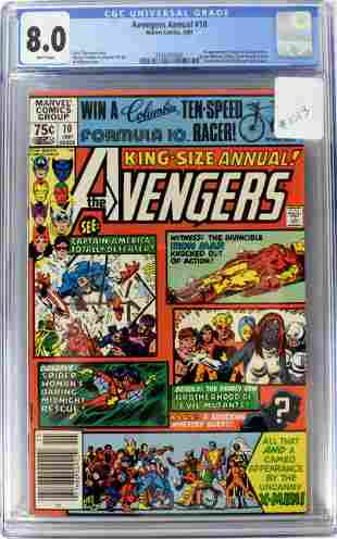 Avengers Annual #10 CGC 8.0