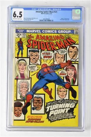 Amazing Spiderman #121 CGC 6.5 6/73
