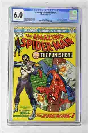 Amazing Spiderman #129 CGC 6.0 2/74