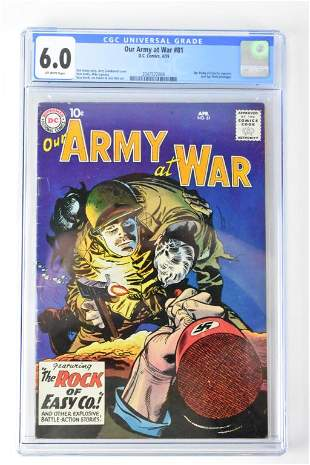Our Army at War #81 4/59 cgc 6.0