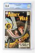 Our Army at War #83 6/59 cgc 2.5