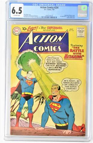 Action Comics #254 CGC 6.5