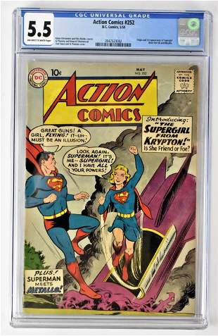 Action Comics #252 CGC 5.5