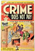 Golden Age Mystery and Crime Comic Grouping