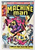 Machine man - Complete Run #1 through #19 comics
