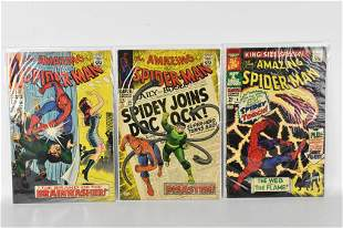 Amazing Spiderman Comic Grouping
