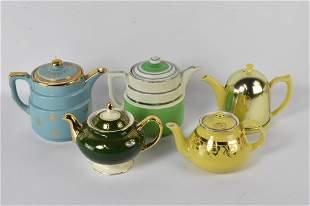 Vintage Hall Teapot Grouping