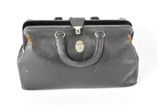 Doctor's Leather Medical Bag