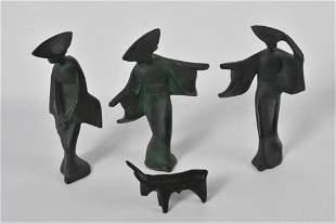 Metal Figural Grouping