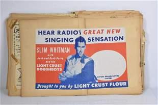 Slim Whitman Ephemera Grouping