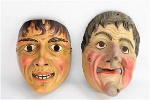 German Carved Masks
