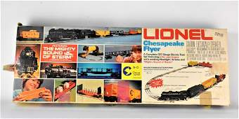 Lionel Chesapeake Flyer Train Set