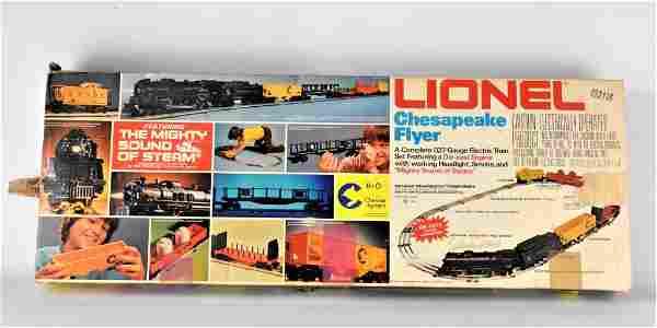 Lionel Chesapeake Flyer Train Set