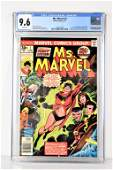 Ms. Marvel #1 CGC 9.6