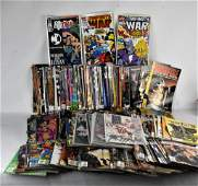 Marvel DC and Image Comic Grouping