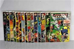 Assorted DC 12 Cent Comic Grouping