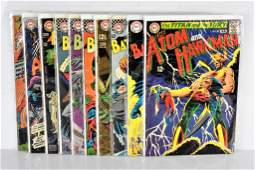 DC asorted 12 cent Comic books