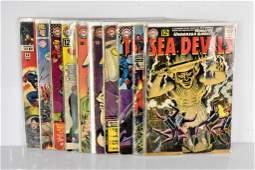 10 Marvel & DC 10-15 Cent assorted Comics