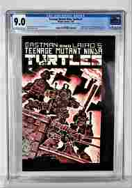 Teenage Mutant Ninja Turtles #1 CGC 9.0