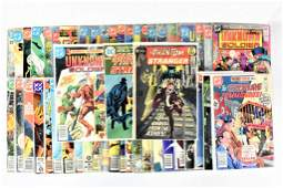 DC Silver and Bronze Age Assorted Comic Grouping
