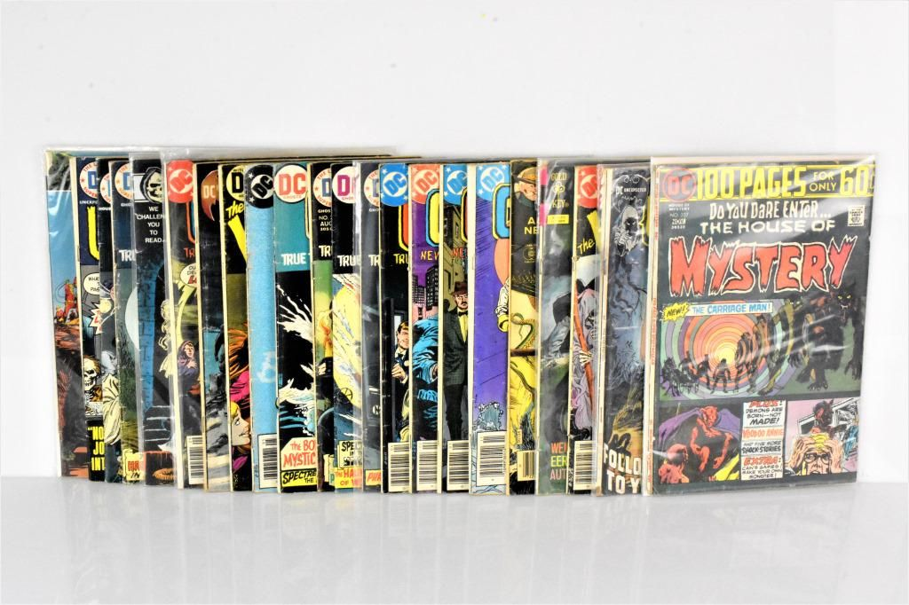 DC Bronze Age Horror Comic Grouping