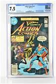 Action Comics #521 CGC 7.5