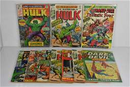 Marvel King or Giant Size Comic Grouping