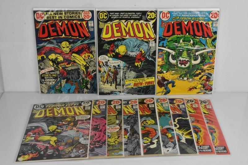 10+ Demon DC Comics