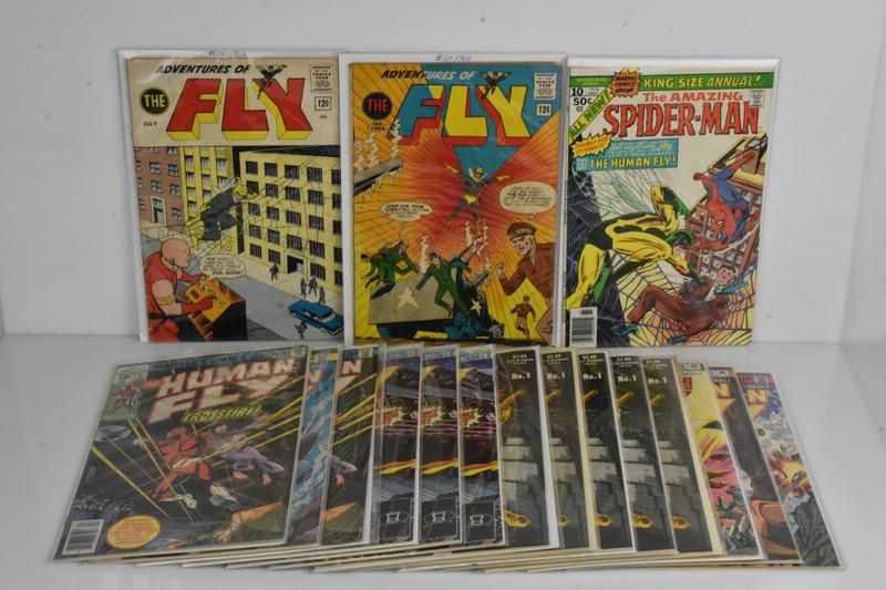 The Fly Assorted Comic Grouping