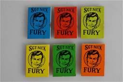 Fury Mini Books / Comic Grouping