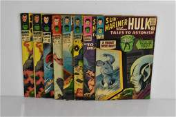 Tales to Astonish Silver Age Comic Grouping