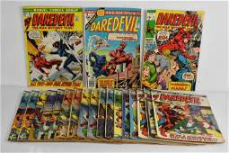 Daredevil Silver and Bronze Age Comic Grouping