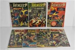 (7) Avengers Comic Book Grouping