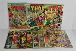 Thor Silver and Bronze Age Comic Grouping