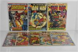 Iron Man and Daredevil Comic Grouping