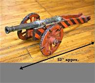 18th Century Bronze Naval Swivel Cannon