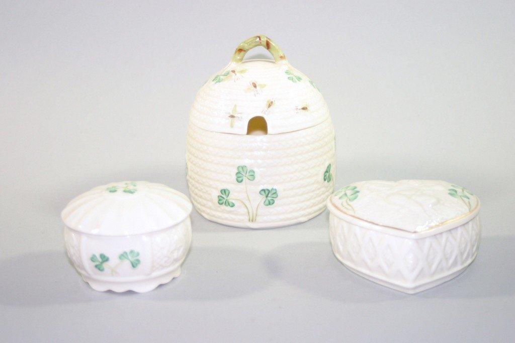 6: Belleek Porcelain Lot
