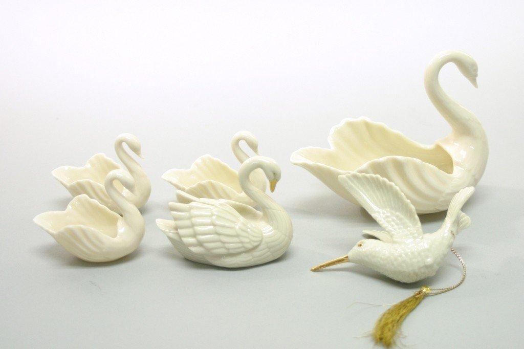 10: Lenox Swan Lot