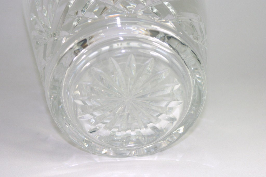 23: Waterford Crystal Vase And Decanter Lot