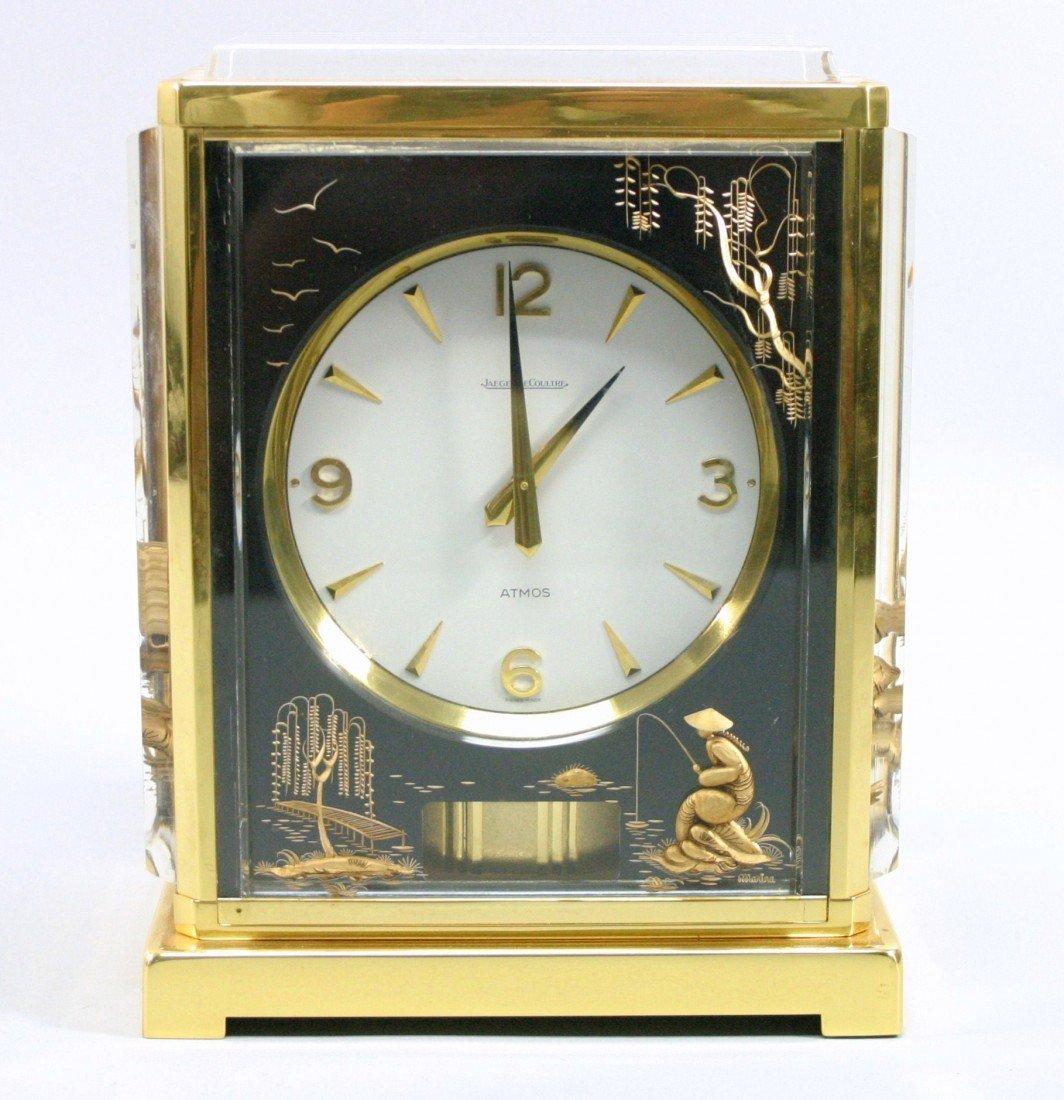 250: Jaeger Le Coultre Atmos Marina Clock